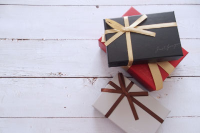 恋人からのプレゼント